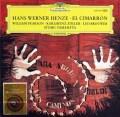 ヘンツェの「エル・シマロン」 独DGG 2826 LP レコード