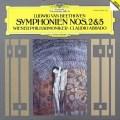 【直筆サイン入り】アバドのベートーヴェン/交響曲第2&5番 独DGG 2826 LP レコード