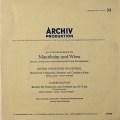 マイナルディのハイドン&ヴァーゲンザイル/チェロ協奏曲集 独ARCHIV 2828 LP レコード