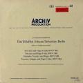 ヴァルヒャのバッハ/トッカータとフーガ 独ARCHIV 2828 LP レコード