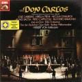 【歌手のサイン入り】カラヤンのヴェルディ/「ドン・カルロ」全曲  独EMI 2830 LP レコード