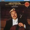イェルク・バウマンのバッハ/無伴奏チェロ組曲第1&2番  独TELEFUNKEN 2831 LP レコード