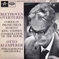 【オリジナル盤】クレンペラーのベートーヴェン/序曲集 英Columbia 2831 LP レコード