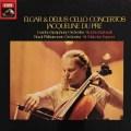 デュ・プレのエルガー&ディーリアス/チェロ協奏曲 英EMI 2831 LP レコード