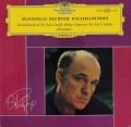 リヒテルのラフマニノフ/ピアノ協奏曲第2番ほか 独DGG 2833 LP レコード