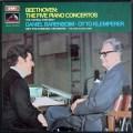 バレンボイム&クレンペラーのベートーヴェン/ピアノ協奏曲全集 英EMI 2837 LP レコード