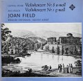 フィールドのシュポーア&ブルッフ/ヴァイオリン協奏曲集 独TELEFUNKEN 2837 LP レコード