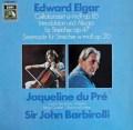 デュ・プレ&バルビローリのエルガー/チェロ協奏曲ほか 独EMI 2839 LP レコード