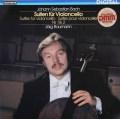 バウマンのバッハ/無伴奏チェロ組曲第1&2番 独TELEFUNKEN 2840 LP レコード
