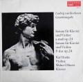 ズスケ&オルベルツのベートーヴェン/ヴァイオリンソナタ第4&5番「春」 独ETERNA 2840 LP レコード