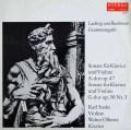ズスケ&オルベルツのベートーヴェン/ヴァイオリンソナタ第8&9番「クロイツェル」 独ETERNA 2840 LP レコード