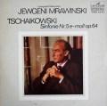ムラヴィンスキーのチャイコフスキー/交響曲第5番 独ETERNA 2840 LP レコード