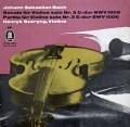 シェリングのバッハ/無伴奏ヴァイオリン・ソナタ&パルティータ第3番 独Odeon 2840 LP レコード