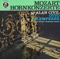 シヴィル&クレンペラーのモーツァルト/ホルン協奏曲 独EMI 2843 LP レコード