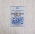 リヒターのバッハ/ブランデンブルク協奏曲 独ARCHIV 2843 LP レコード