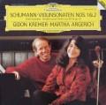 クレーメル&アルゲリッチのシューマン/ヴァイオリンソナタ第1&2番  独DGG 2846 LP レコード