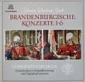 アーノンクール&ウィーン・コンツェントゥス・ムジクスのバッハ/ブランデンブルク協奏曲全集  独TELEFUNKEN 2846 LP レコード
