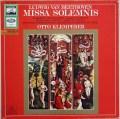 クレンペラーのベートーヴェン/「荘厳ミサ」  独EMI 2846 LP レコード
