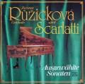 【直筆サイン入り】ルージチコヴァーのスカルラッティ/チェンバロのためのソナタ集  独SUPRAPHON 2848 LP レコード