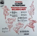 ムーティのストラヴィンスキー/春の祭典   独EMI 2848 LP レコード