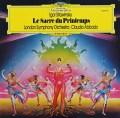 アバドのストラヴィンスキー/「春の祭典」  独DGG 2849 LP レコード