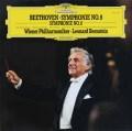 バーンスタインのベートーヴェン/交響曲第8&9番  独DGG 2849 LP レコード