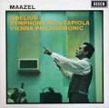 マゼールのシベリウス/交響曲第4番  英DECCA 2849 LP レコード