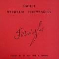 フルトヴェングラーの自作自演/交響曲第2番ほか  仏WF協会 2849 LP レコード