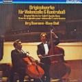 シュトール&バウマンのチェロとバスのための作品集  独TELEFUNKEN 2849 LP レコード