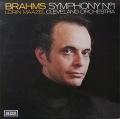 マゼールのブラームス/交響曲第1番 英DECCA オリジナル盤 2816 LP レコード