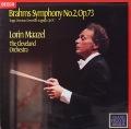 マゼールのブラームス/交響曲第2番 英DECCA オリジナル盤 2816 LP レコード