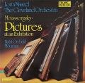マゼールのムソルグスキー/「展覧会の絵」 独TELARC 2816 LP レコード