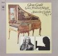グールドのヘンデル/チェンバロ組曲第1〜4番 独CBS 2816 LP レコード