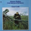 グールドのブラームス/間奏曲集 独CBS 2816 LP レコード