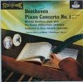 バックハウス&イッセルシュテットのベートーヴェン/ピアノ協奏曲第1番ほか 英LONDON 2818 LP レコード