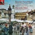 ムーティのロッシーニ/序曲集 独EMI 2901 LP レコード