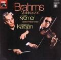 クレーメル&カラヤンのブラームス/ヴァイオリン協奏曲 独EMI 2901 LP レコード