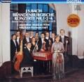 アーノンクールのバッハ/ブランデンブルク協奏曲第1,2&4番  独TELEFUNKEN 2904 LP レコード