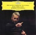 カラヤンのブルックナー/交響曲第9番 独DGG 2904 LP レコード