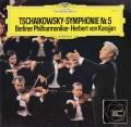 カラヤンのチャイコフスキー/交響曲第5番 独DGG 2904 LP レコード