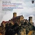 ハイティンクのメンデルスゾーン/交響曲第5番「宗教改革」 蘭PHILIPS 2904 LP レコード