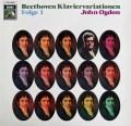 オグドンのベートーヴェン/ピアノ変奏曲集 vol.1 独EMI 2907 LP レコード