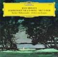 カラヤンのシベリウス/交響曲第6&7番 独DGG 2907 LP レコード