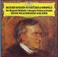 ベームのワーグナー/序曲&前奏曲集 vol.2 独DGG 2907 LP レコード