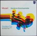 グリュミオートリオのモーツァルト/弦楽五重奏曲集 蘭PHILIPS 2907 LP レコード