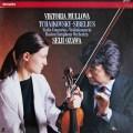 ムローヴァ&小澤のチャイコフスキー&シベリウス/ヴァイオリン協奏曲集  蘭PHILIPS 2907 LP レコード