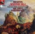 バルビローリのブラームス/交響曲第4番&大学祝典序曲 独EMI 2907 LP レコード