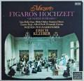 エーリヒ・クライバーのモーツァルト/「フィガロの結婚」 独DECCA 2907 LP レコード