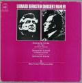 バーンスタインのマーラー/交響曲第1、3&4番 独CBS 2907 LP レコード