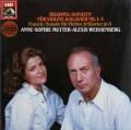ムター&ワイセンベルクのブラームス/ヴァイオリンソナタ集 独EMI 2907 LP レコード